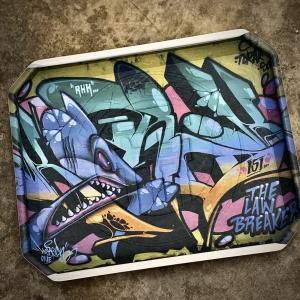 Sharky Graffiti