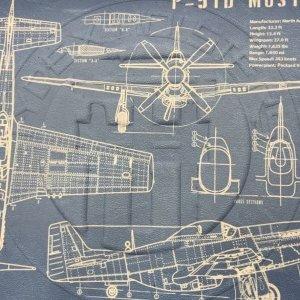 P-51 Blueprint